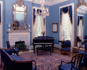 President's Mansion blue room
