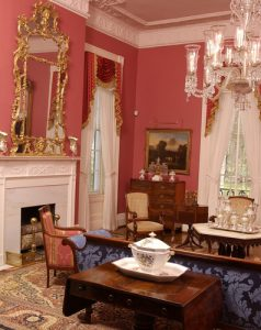 President's Mansion pink room